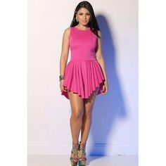 f24c42294aff Best Seller Sexy Dovetail Skirt Rosy Rose Dress