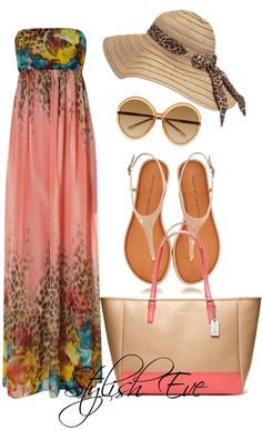 love this outfit Mode Outfits, Dress Outfits, Casual Outfits, Fashion Outfits, Womens Fashion, Maxi Dresses, Look Fashion, Cute Fashion, Spring Summer Fashion