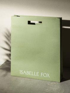 Isabelle Fox on Behance Paper Bag Design, Bip Bip, Clothing Packaging, 2 Logo, Bag Packaging, Product Packaging, Graphic Design Branding, Packaging Design Inspiration, Box Design