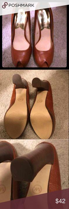 Michael Kors brown heels, 7.5 Michael Kors brown heels, 7.5 Michael Kors Shoes Platforms
