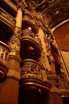 """Paris Opera House """"He demands for Box 5 to be left empty."""""""
