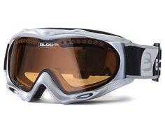 de62a79bc Bloc Shimmer Ski Snowboard Snow Skiing Small Mens Womens Goggles Silver |  Snow Goggles | Skiing & Snowboarding