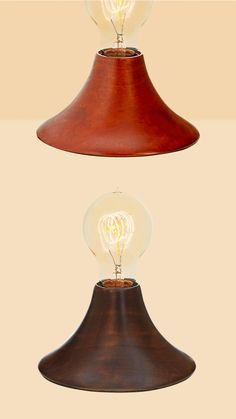 The Beacon Accent Lamp features a single Edison bulb atop a carved wooden mahogany base. Its pared down silhouette and inconspicuous size make it perfect for illuminating side tables, desks, or other small surfaces that might need an extra, warm glow Fall Home Decor, Autumn Home, Cheap Home Decor, Cheap Modular Homes, Modern Rustic Decor, Handmade Decorations, Side Tables, Desks, Decorative Accessories