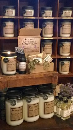 1803 Candles - Soy Candles - Handpoured  These are the best scented candles and the only melters I will use in my burners.
