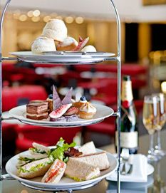 Assorted selection from the High Tea menu