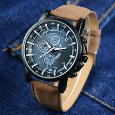 Cheap watches valentine, Buy Quality watch metal directly from China watch mobile phone Suppliers: Top Brand Watch Men Fashion Luminous Sport Watches PU Leather Quartz Watch Male Hour Montre Homme Relogio Masculino Cheap Watches, Casual Watches, Cool Watches, Men's Watches, Jewelry Watches, Dress Watches, Elegant Watches, Pocket Watches, Mens Sport Watches
