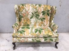 Stunning two-seater Victorian wingback sofa, for those seeking to add a touch of faded colonial decadence to their home. Wingback Chair, Sofa, Old Soul, Accent Chairs, Victorian, Antiques, Furniture, Home Decor, Upholstered Chairs