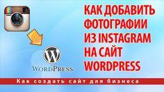 Как добавить фотографии из Instagram на сайт Wordpress