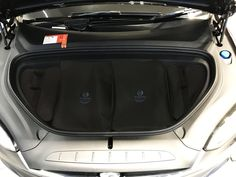 6494ca81ae5e Tesla Model X - 4 piece bespoke tailored luggage   storage solution for  your Frunk Tesla
