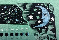 """The 2017 Lunar Calendar"" by Nate Duval"