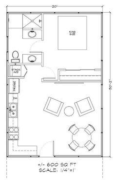 studio apartment floor plans - Google Search | garage | Pinterest ...