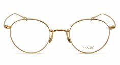 ayame アヤメ MANRAY ゴールド 眼鏡(メガネ) 国内正規品 MANRAY GLD