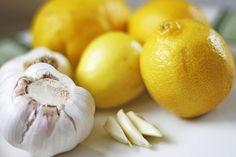 Knoblauch-Zitronen Kur gegen Fettablagerungen & Gefäßverkalkung