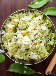 Vegan Cabbage Recipes, Coconut Recipes, Indian Food Recipes, Vegetarian Recipes, Healthy Recipes, Vegan Vegetarian, Healthy Food, Curry Recipes, Paleo