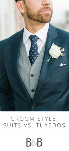 Wedding Suits 36 Groom Suit That Express Your Unique Styles and Personalities! - For so long the grooms have been too traditional with their wedding attire, while in 2017 you might see some difference in the groom attire or groom suits. Navy Groom, Groom And Groomsmen Attire, Groom Outfit, Groom Suits, Navy Suits, Light Navy Suit, Deep Navy Suit, Mens Suits, Deep Blue
