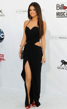 """""""Selena Gomez""""-- """"Long Black Class Dress""""  .. """"Can One Look Any Better Than This?"""" .. """"BEAUTY"""" ~ """"STYLE"""" ~ """"PURE CLASS"""" .."""
