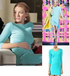 On Serena: Blumarine Fall 2009 Dress