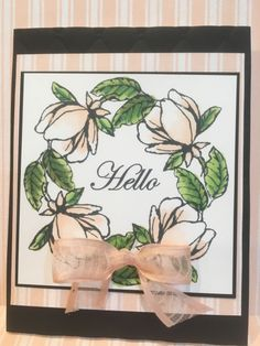 Picks from My Pals Stamping Community! (Mary Fish, Stampin' Pretty The Art of Simple & Pretty Cards) Flower Stamp, Flower Cards, Penny Black, Stampin Pretty, Magnolia Stamps, Stampin Up Catalog, Stamping Up Cards, Scrapbooking, Pretty Cards