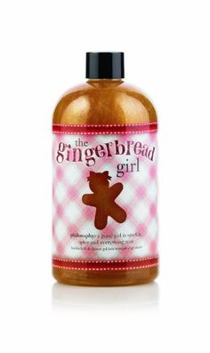 Philosophy The Gingerbread Girl Shower Gel 16 Ounces ** Find out more about the great product at the image link.Note:It is affiliate link to Amazon.