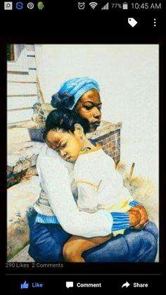 Black Art African American Mother and Child Patti and Kelli Black Love Art, Black Girl Art, Black Is Beautiful, Art Girl, Beautiful Body, Beautiful Pictures, African American Artwork, American Artists, African Art
