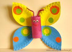 Butterfly - Motyl z talerzyka i rolki