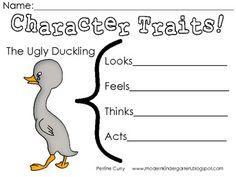 Traditional The Ugly Duckling is a perfect wy to teach young students about the importance of not judging someone by their physical characteristics. I think this is a wonderful piece of literature to use with my students! Kids Reading, Teaching Reading, Guided Reading, Traditional Literature, Traditional Books, Ugly Duckling, Teaching Activities, Children's Literature, Being Ugly