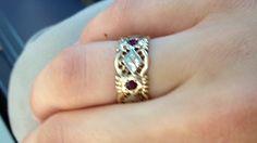 Great-grandma's ring :-)... Antique