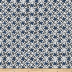 Fabricut No Doubt Jacquard Azure from @fabricdotcom  This lovely jacquard fabric features a textured face and is quite versatile. Perfect for heavier window treatments (draperies, valances), toss pillows, duvet covers, and upholstery projects. Fabric features 15,000 double rubs.