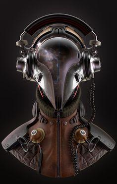 music design concept art badass sci-fi science fiction headphones designer audio astronaut space suit listening to music sci-fi art Science Fiction, Mad Science, Character Inspiration, Character Design, 3d Character, Mekka, Sci Fi Armor, Sci Fi Characters, Retro Futurism