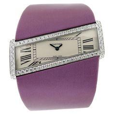 CARTIER Diamond DIAGONALE Watch