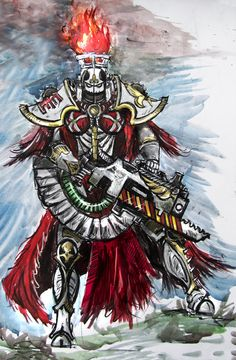 """sororitahazel: """" Sister of Battle by ZingerNax """""""