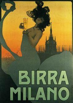 Mario Borgoni, Birra Milano