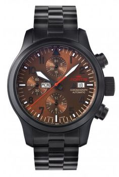Fortis Watch Aviatis Aeromaster Dusk Chronograph PVD #bezel-fixed #bracelet-strap-black-pvd #brand-fortis #case-material-black-pvd #case-width-42mm #chronograph-yes #date-yes #day-yes #delivery-timescale-1-2-weeks #dial-colour-brown #gender-mens #luxury #movement-automatic #style-sports #subcat-aviatis #supplier-model-no-656-18-98-m #swiss-fortis #warranty-fortis-official-2-year-guarantee #water-resistant-200m
