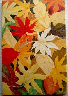 """Atelier de Arte Julainne: """"Folhas de outono"""" Momiji"""
