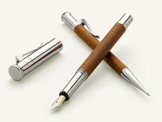 Graf von Faber-Castell - handmade in Germany - beautiful foutainpen made out of wood