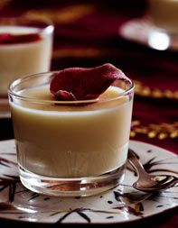 Cardamom-Coconut Panna Cotta~ Anyone have a suggestion for a substitute of the coconut? Blech, no likey coconut.