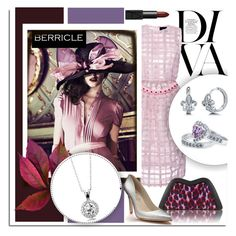 """SHOP - Berricle"" by melissa-de-souza ❤ liked on Polyvore featuring Mode, Simone Rocha, BERRICLE, Feather.M, Shoes of Prey, NARS Cosmetics, jewelry und shop"