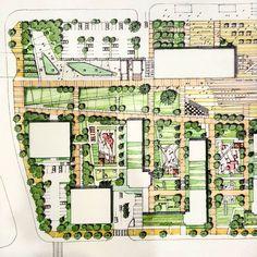 습작~ Bs #Environmental #Design #Group #LandscapeArchitecture & #Associates #sketch #drawing #plan #note #conceptplan