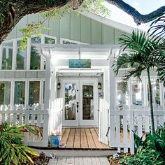 7 Steps to Casual Beach Decor | 6. Paint on personality. | CoastalLiving.com