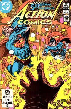 Comic Books For Sale, Dc Comic Books, Comic Book Covers, Hulk Comic, Superman Comic, Superman Action Comics, Dc Comics, First Superman, Superman Family