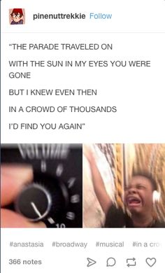 scratch that. i sob to this because i realise that i am single and dont have a freakin sexy dood to sing the male parts with. then i sob Anastasia Movie, Anastasia Broadway, Anastasia Musical, Princess Anastasia, Musical Theatre Broadway, Music Theater, Christy Altomare, Journey To The Past, Theatre Nerds