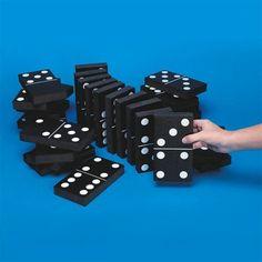 Jumbo Foam Dominoes (pack of 28)