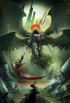 The Angel of Death is the most powerful Archangel in Heaven's army. Even the other Archangels are scared of him, because he's hard to control without direct commands from God.