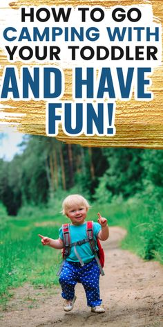 Are you wondering how to go camp with a toddler?  Try these fun toddler camping activities and crafts to make memories and have fun when camping.  These toddler camping tips will be helpful for new parents looking have a successful camping trip with their little one. Toddler Camping, Camping Toys, Camping With Toddlers, Camping Activities, Camping Crafts, Activities To Do, Go Camping, Camp Songs, Songs For Toddlers
