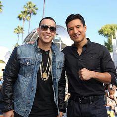 Daddy yankee y Mario Lopez