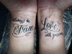 couples tattoos | T A T T O O