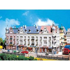 FALLER HO 1:87 SCALE SCHILLERSTRASSE CITY BLOCK KIT 130925 #Faller