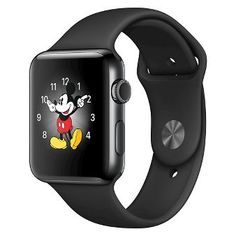 Apple® Watch Series 2 42mm Space Black Stainless Steel Case with Space Black…