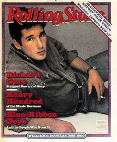 Richard Gere - Rolling Stone Magazine [United States] (6 March 1980)