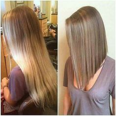 New Hair Color Long Blonde Lob Haircut Ideas Long Bob Haircuts, Long Bob Hairstyles, Pretty Hairstyles, Long Angled Haircut, Long Inverted Bob, 2015 Hairstyles, Short Wavy, Celebrity Hairstyles, Long Angled Bobs